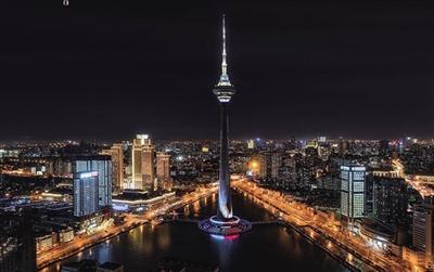 天津首次裸眼3D创意投影将于跨年夜在天塔上演