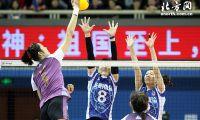 天津女排3-0上海获冠军点 距12冠王仅一步之遥