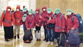 武汉,天津医疗队前来报到!