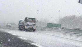 受降雪影响部分高速封闭 普通干线公路运行正常