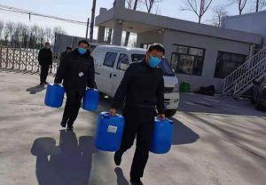 人保财险天津分公司向宝坻区霍各庄镇紧急捐赠防疫物资