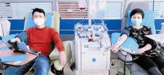 血库告急 天津多家医院医务人员纷纷主动献血