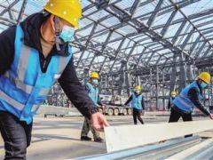 国家会展中心(天津)项目目前已全面复工