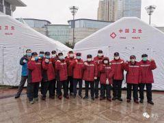 """天津国家紧急医学救援队在武汉——""""我想看看救我的医生的样子"""""""