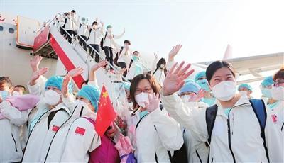 天津支援武漢醫療隊凱旋 李鴻忠張國清作出批示