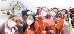 天津第八批支援湖北醫療隊返津:使命必達 暖心回家