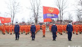 天津市開展跨區域全要素地震救援拉動演練