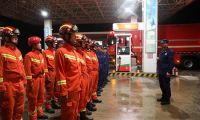 千里驰援黑龙江 天津消防在行动