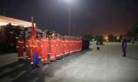 天津市消防救援总队抢险救灾增援队奔赴黑龙江抢险救灾