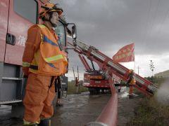 天津消防跨区域增援吉林德惠 全面开展排水排涝作业