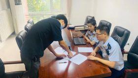 """天津消防高新支队以案宣法推进打通""""生命通道""""集中治理行动"""
