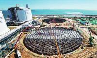 国内单体最大LNG储罐一次浇筑成型