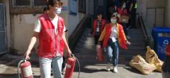 天津和平网格员发挥效能第一时间处置火情