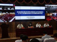 天津滨海新区召开教体系统消防安全专项整治三年行动推进会