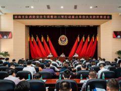 天津滨海组织召开消防安全专项整治三年行动重点单位火灾防控会