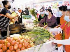 蔬菜供应平稳 未受降雨影响