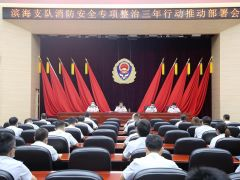 天津滨海新区组织召开消防安全专项整治三年行动推动部署会