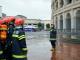 天津静海支队组织开展人员密集场所灭火救援实战演习