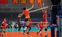 轻取云南 第三出线 天津女排八强战对阵浙江
