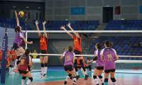 天津女排3-1击败山东女排 夺全锦赛历史第六冠