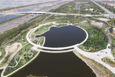 临港湿地公园二期开放