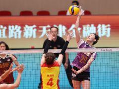 公益赛打出决赛较量 天津女排3-1逆转山东取胜