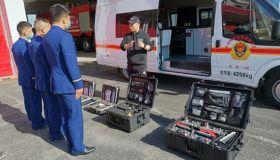 """天津特勤消防救援支队屡添""""利器""""助推应急指挥决策能力提升"""
