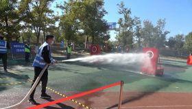 天津宝坻区举办第二届社会消防救援力量岗位练兵比武竞赛