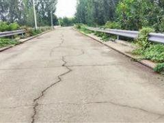 蓟州龙山大桥桥面有裂缝