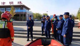 天津武清消防救援支队水域救援专业队全面提升专业救援能力