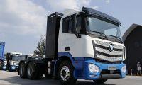 走在时代最前端 福田智蓝新能源换电与氢燃料卡车引领行业发展方向
