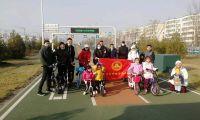 """""""回天有我 绿色出行""""公益骑行活动在北京昌平回天地区举办"""