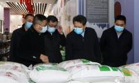 静海区区长金汇江带队检查节日市场供应、安全生产和疫情防控工作