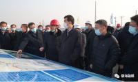 津静线市域(郊)铁路首开段工程开工 市、区领导深入建设现场慰问参建人员