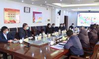 王洪海单泽峰与中国民航大学一行座谈 共同协商解决项目进展具体问题 加快新校区建设