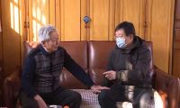 王洪海单泽峰等区领导看望慰问区级离退休老同志 向老同志们致以节日的问候和新春的祝福