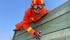 天津西青消防救援支队开春即开训