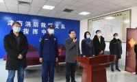 津南区领导慰问春节坚守一线干部职工和留津过年企业职工