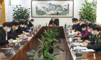 东丽区委书记夏新主持召开区委常委会议军会议