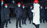 东丽区委副书记区长谢元调研项目建设和安全生产工作