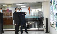 东丽区委副书记区长谢元就疫情防控和安全生产深入基层检查调研