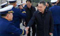 东丽区领导春节前夕看望慰问一线干部职工