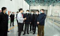 谢元同天津农商银行总行行长一行座谈