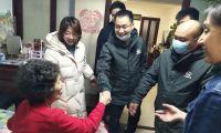 西于庄街道西于庄社区联合 中铁隧道局集团路桥工程有限公司天津地铁4号线开展雷锋志愿活动
