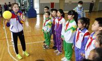 天津河东校园公益行 畅谈女排精神 发展校园排球