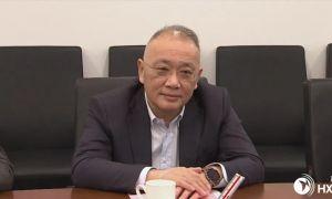 河西区领导接待上海建工集团党委书记、董事长徐征一行来区考察