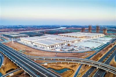 天津国家会展经济片区正在规划建设