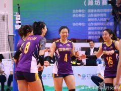 3-1战胜上海 天津女排取全运预选赛四连胜