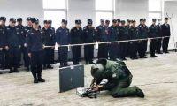 民生银行天津分行与公安部门举办反恐及应急培训演练