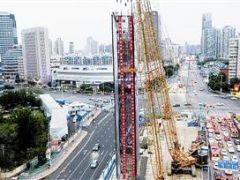 天津地铁7号线海光寺站主体围护施工